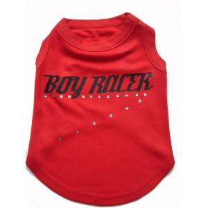 Boy & Girl Racer Dog T-Shirts
